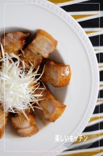 豚バラ料理