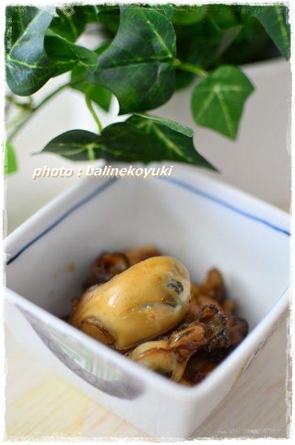 牡蠣の佃煮1