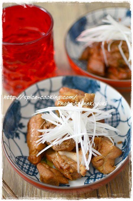 鶏の煮物1