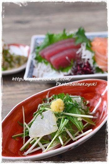 鯛生姜和え