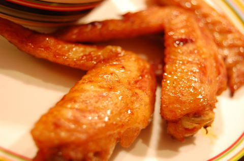 鶏のコチュジャン焼き
