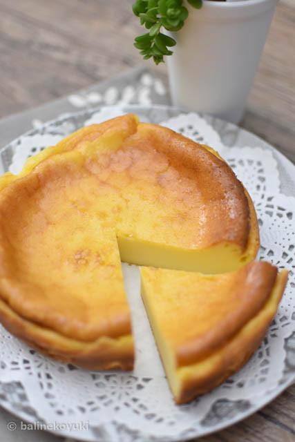 20170610-ベイクドチーズケーキ
