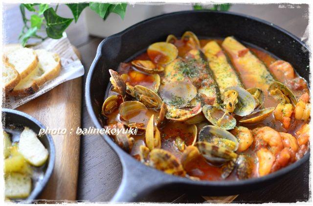 魚介のトマトスパイス煮3