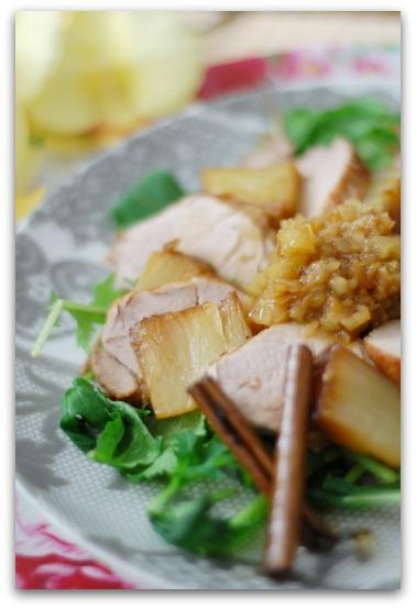 楽しいキッチン-豚のロースト