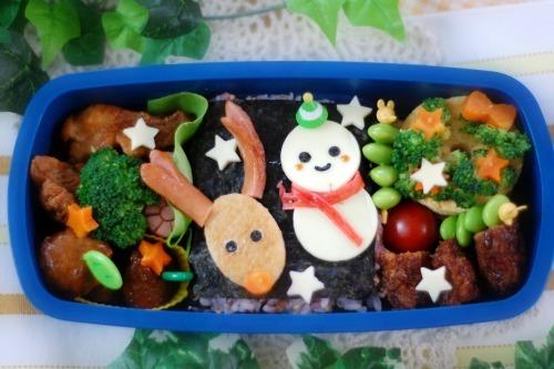楽しいキッチン-クリスマス弁当