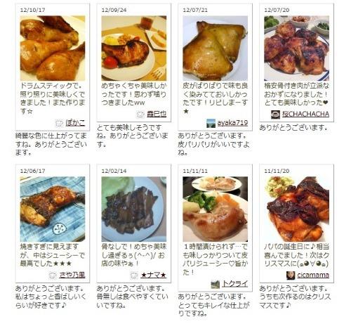楽しいキッチン-つくれぽ(骨付きもも肉のオーブン焼き)