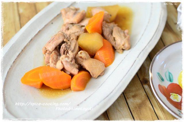 鶏もも肉と大根のべっこう煮