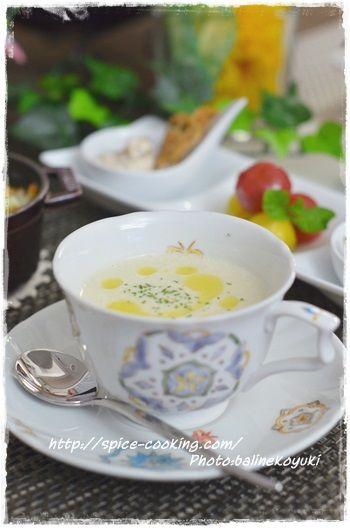 ごぼうのスープ3