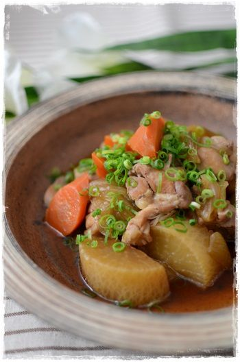 鶏肉と大根の煮物1