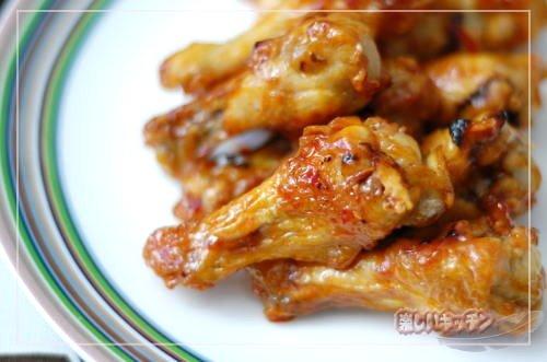 鶏手羽元のチリソース