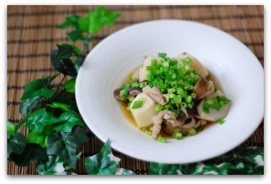 楽しいキッチン-里芋の煮物