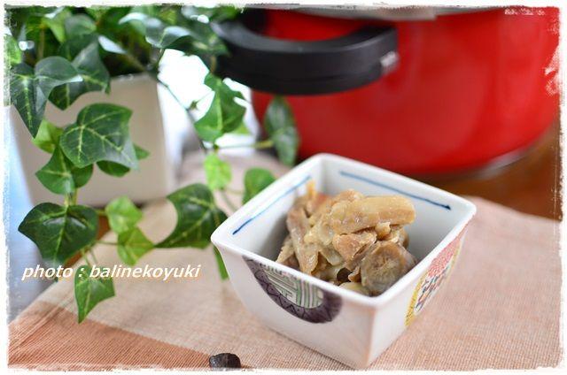豚肉と根菜の味噌炒め3