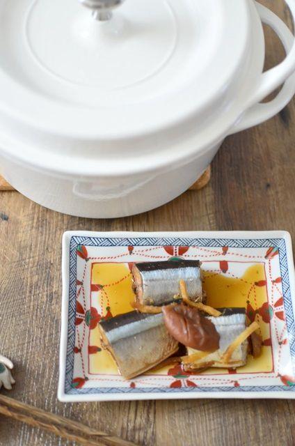 秋刀魚の梅酢煮3