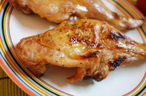 鶏もも肉のクレイジーソルト焼き