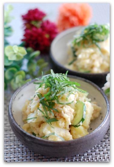楽しいキッチン-ポテトサラダ
