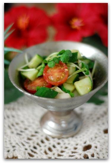 楽しいキッチン-クミンのサラダ