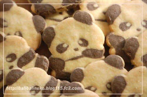 パンダのクッキー