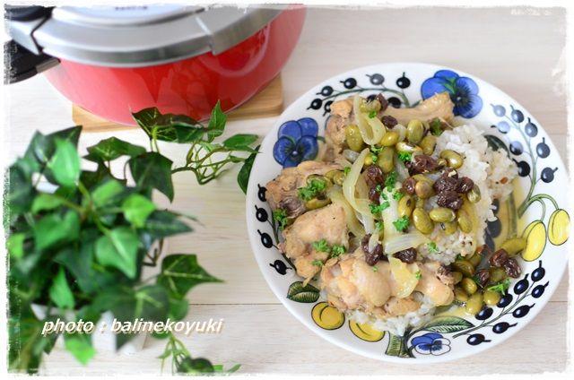 手羽元と豆煮3