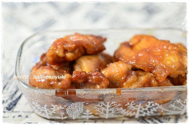 酢鶏の照り焼き