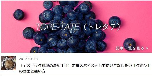TORE-TATE記事