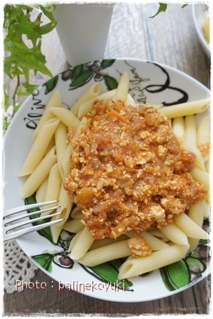 鶏 ひき肉 ミートソース
