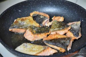 鮭と白菜のさっぱり炒め蒸し工程3