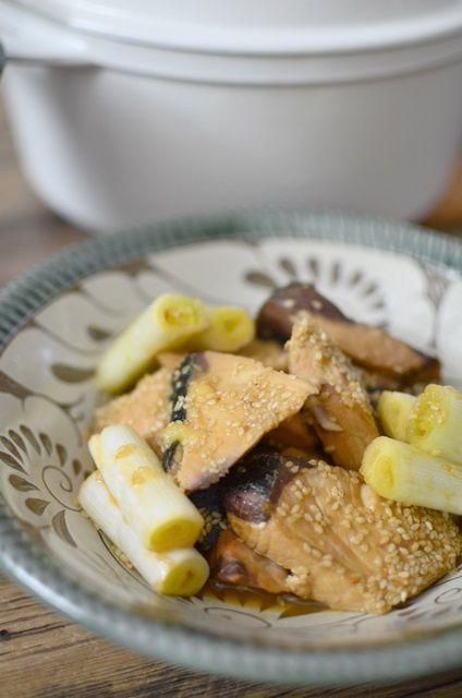 ぶりのごま味噌煮1