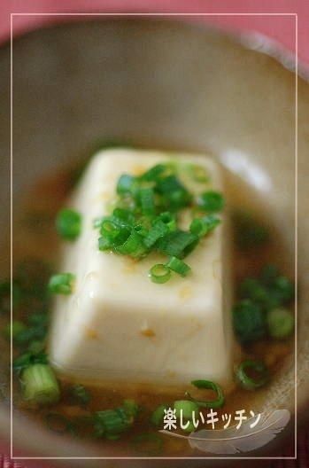 梅出汁豆腐