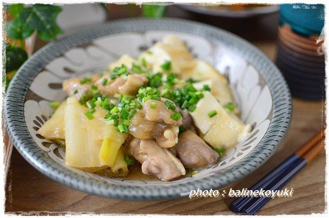 鶏肉と豆腐の白味噌煮2