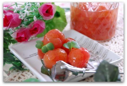 楽しいキッチン-トマトのコンポート