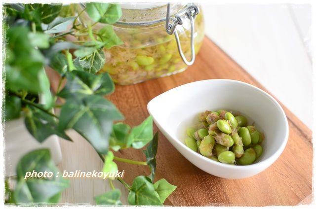 枝豆の煮びたし2