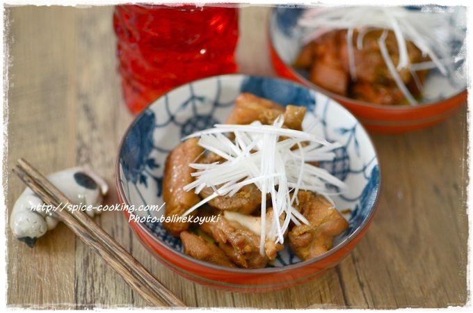 鶏の煮物2