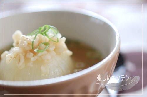 丸ごと玉ねぎ押麦スープ