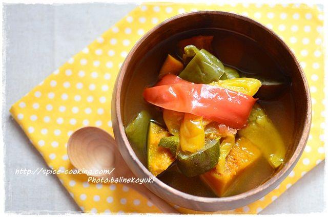 彩り野菜スープ1
