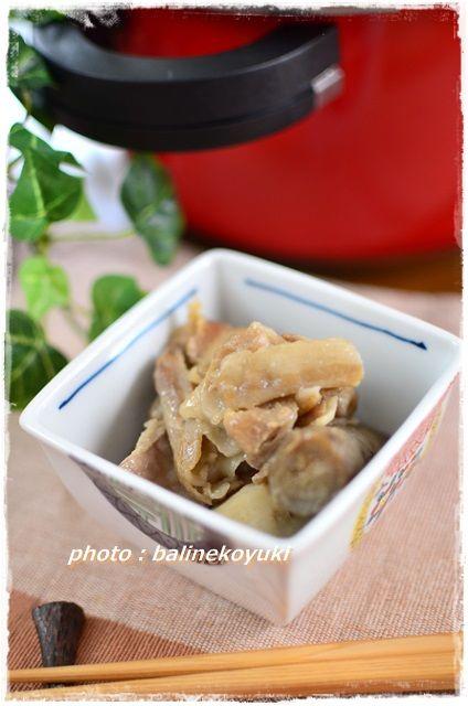 豚肉と根菜の味噌炒め2
