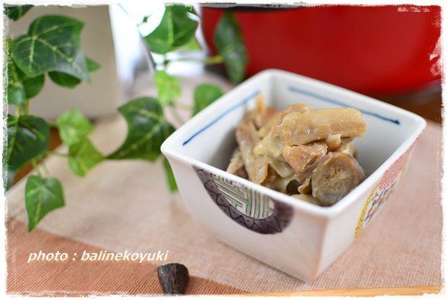 豚肉と根菜の味噌炒め1