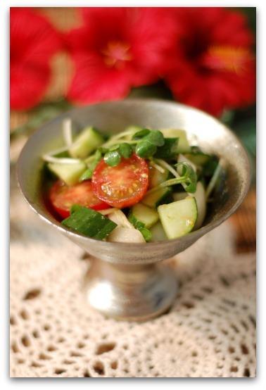 楽しいキッチン-サラダ