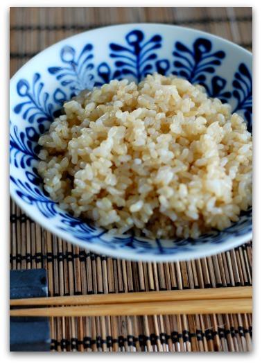 楽しいキッチン-玄米ご飯