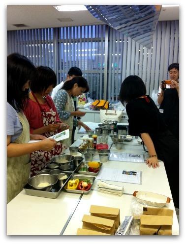 楽しいキッチン-第7回ハーブ料理教室
