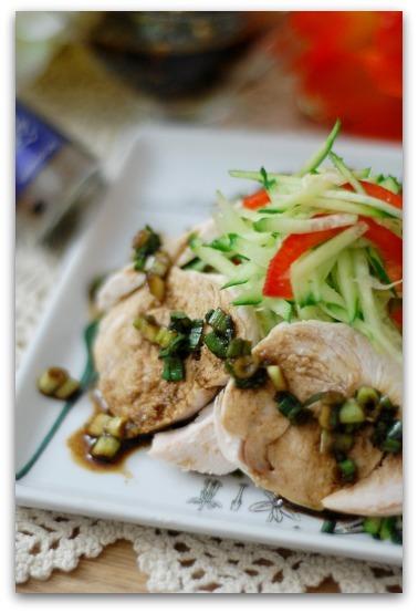 楽しいキッチン-花椒ドレッシング(鶏胸肉)