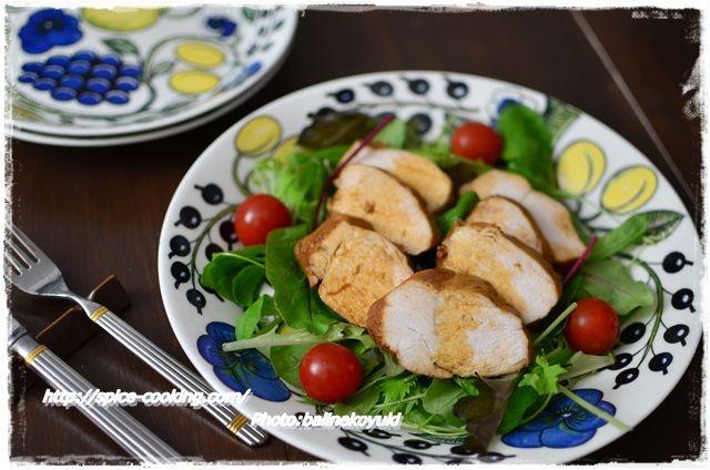 鶏胸肉の白ワイン煮2