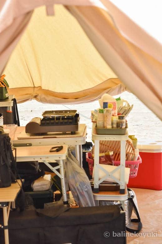 夏!浜辺キャンプ|夫婦ふたりだけの夏キャンプ2019