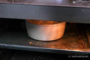 オーブンで焼く