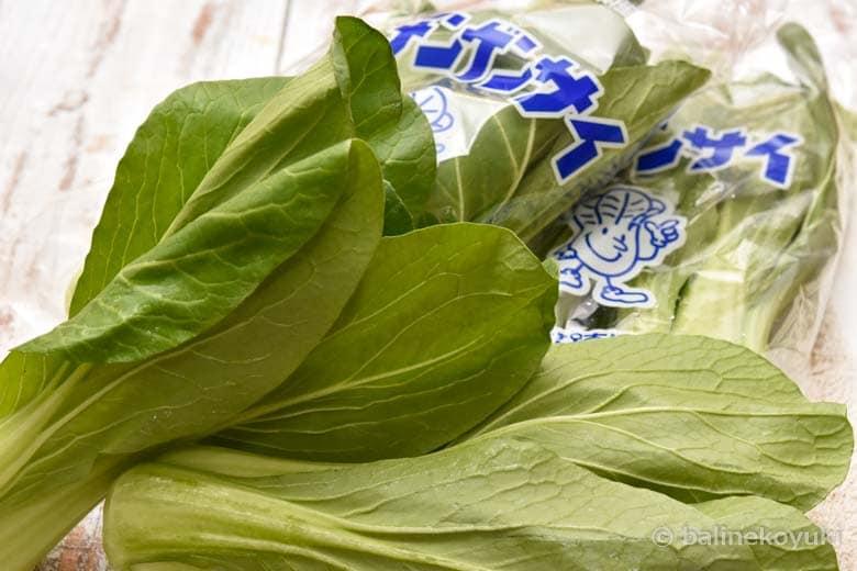 静岡県産青梗菜