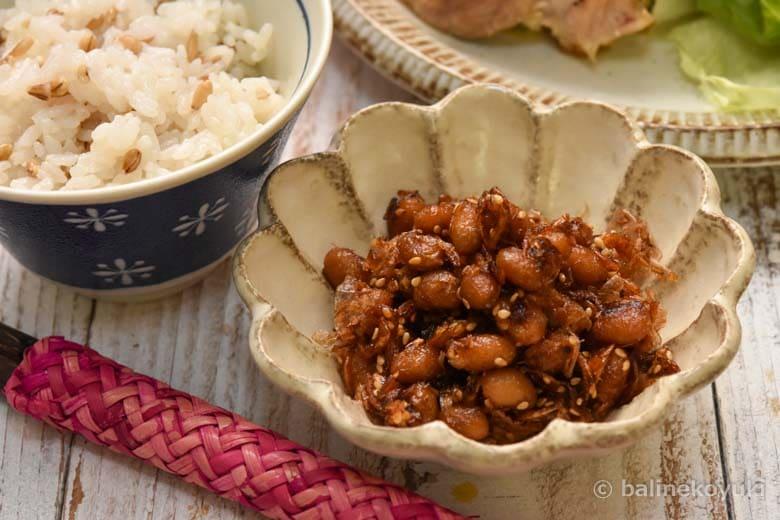 大豆と桜えびのカリカリふりかけ