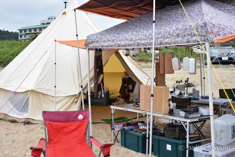 2020年夏海キャンプ