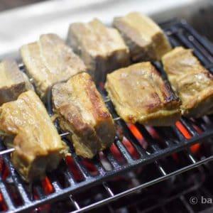 豚バラのグリル焼き