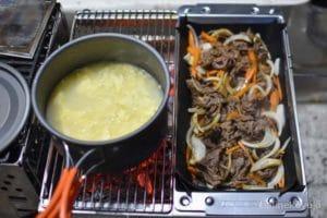 スープ&焼き肉