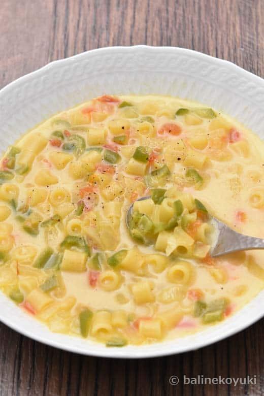 サフランミルクスープ