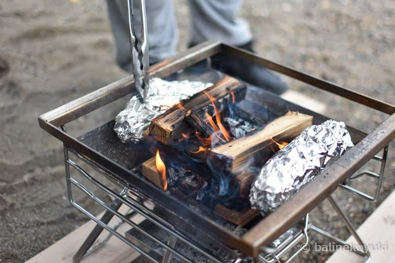 焚き火・焼き芋